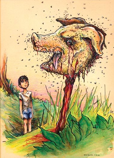 the evil and primitivism in man in the story lord of flies Good versus evil in lord of the flies by william when the story was its golding's intention to illustrate the innate evil inside man through his.