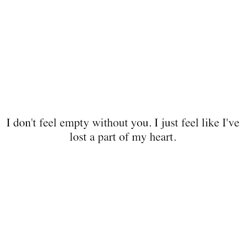 Saying Quotes About Sadness: I Feel Empty Quotes. QuotesGram