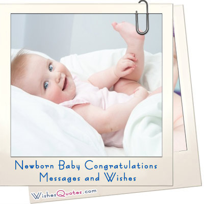 New Born Baby Wishes Quotes Quotesgram