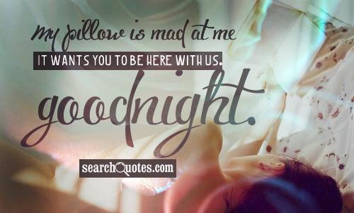 Good Night Quotes For Him: Sexy Good Night Quotes For Him. QuotesGram