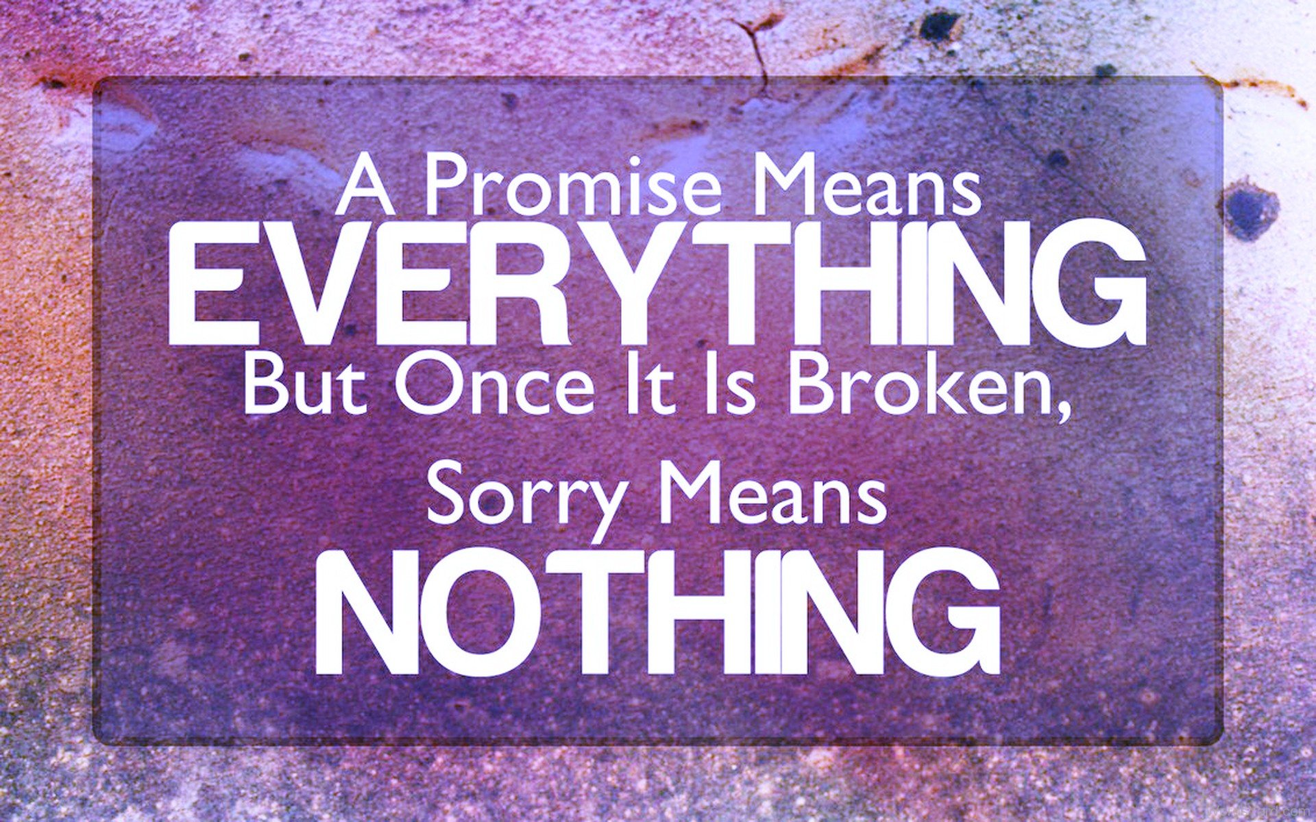 Words Mean Nothing Quotes Quotesgram: Sorry Means Nothing Quotes. QuotesGram
