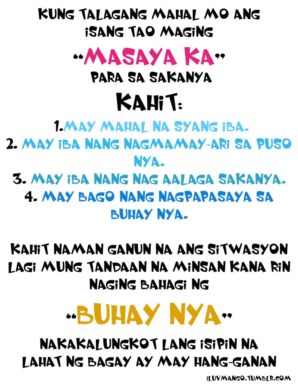 For sweet boyfriend message tagalog 50+ Breathtakingly