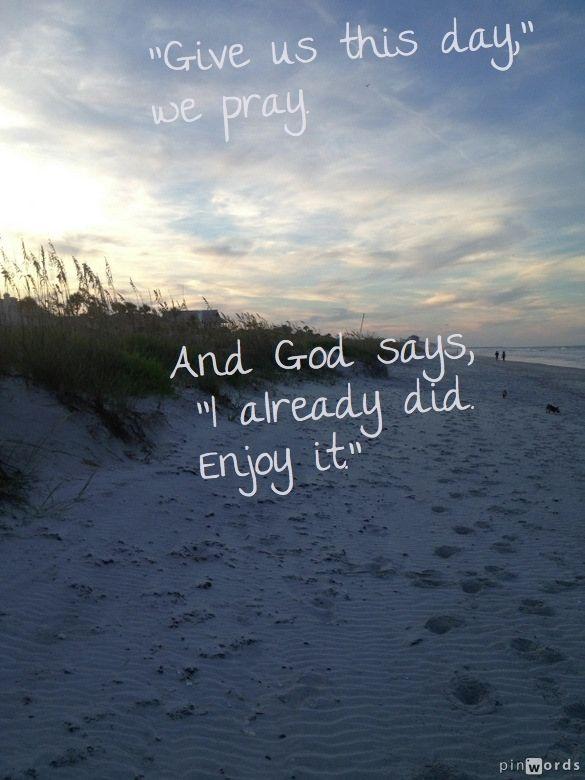 Good Inspirational Quotes: Beach Quotes Good Morning. QuotesGram