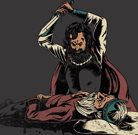 What are the reasons Macbeth would kill King Duncan, and what are some reasons not to?