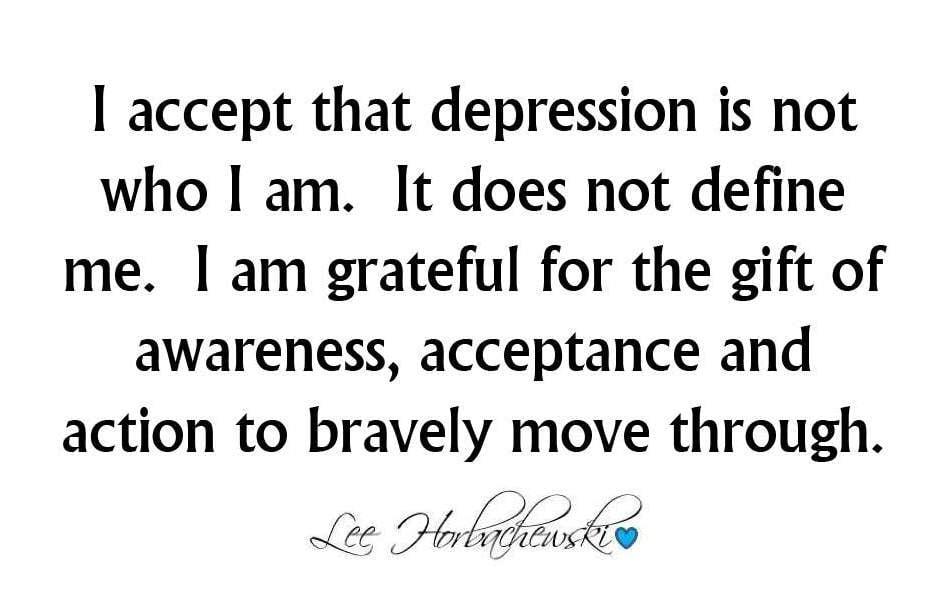 Quotes About Getting Through Depression Quotesgram