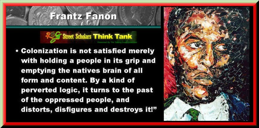 frantz fanon Frantz fanon's relatively short life yielded two potent and influential statements of anti-colonial revolutionary thought, black skin, white masks (1952) and the.