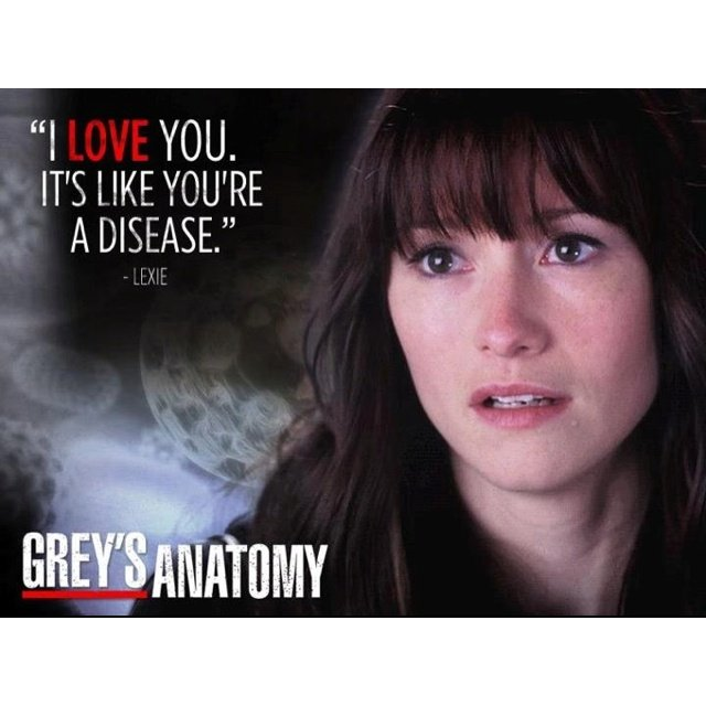 I Love You Quotes: Lexie Grey Quotes. QuotesGram