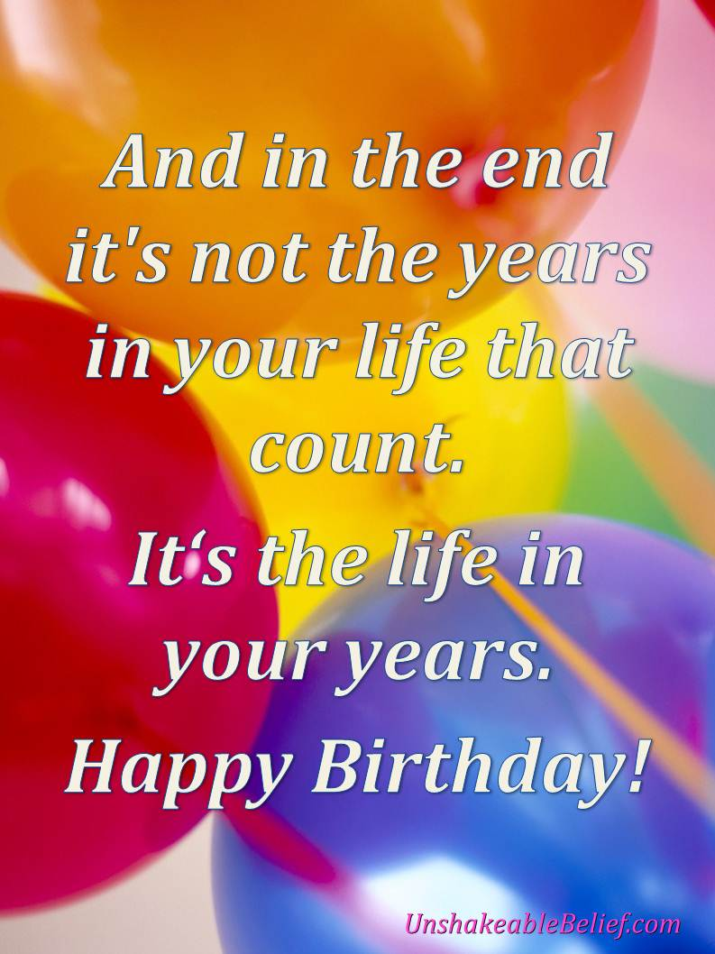 Christian Inspirational Birthday Quotes. QuotesGram