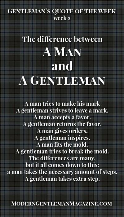 being a gentleman quotes  quotesgram