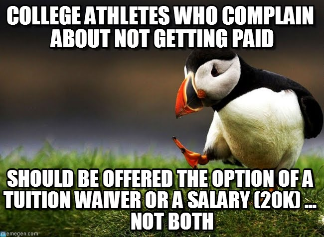 college athletes should not get paid essay