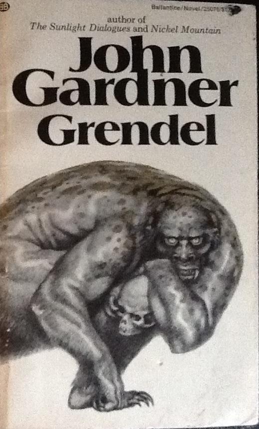 the portrayal of grendels childhood in john gardners novel grendel