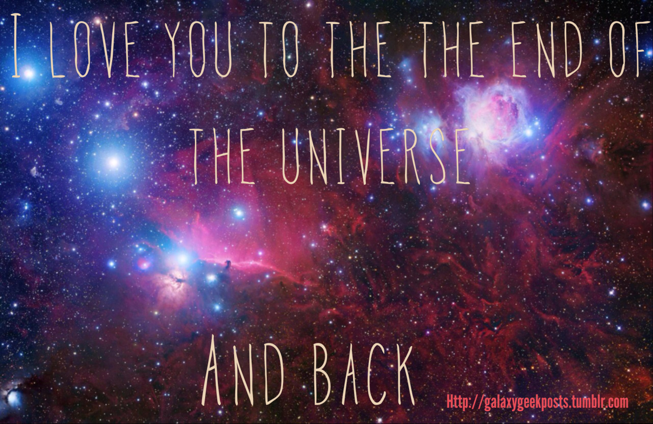 3d Galaxy Wallpaper With Quotes Quotesgram: Galaxy I Love You Quotes. QuotesGram