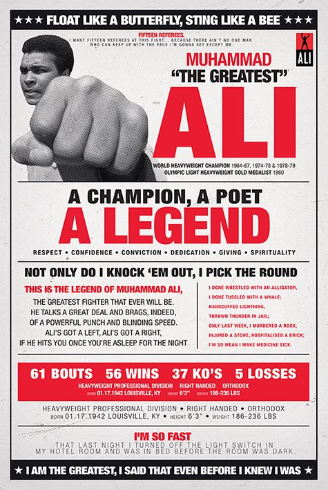Muhammad Ali Quotes Float Like A Butterfly Quotesgram