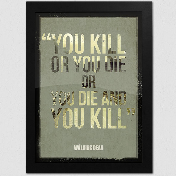 Quote For The Dead: The Walking Dead Rick Quotes. QuotesGram