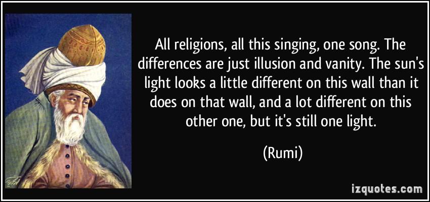rumi quotes on religion quotesgram. Black Bedroom Furniture Sets. Home Design Ideas