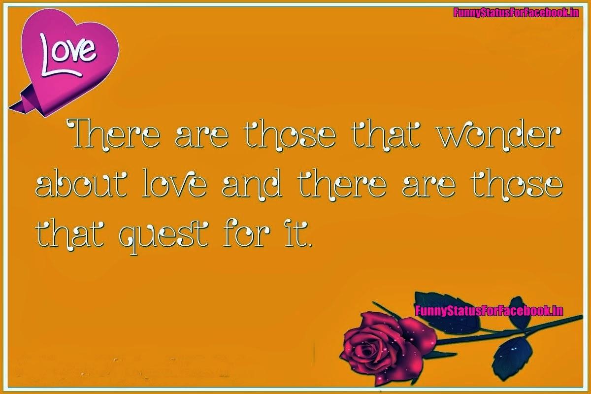 Quotes About Love Fb Status. QuotesGram