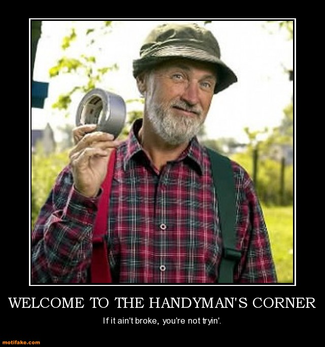 Funny Handyman Pictures With Quotes Quotesgram