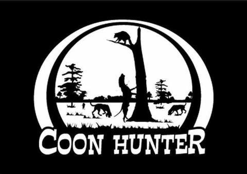 Coon Hunting Clip Art Cliparts