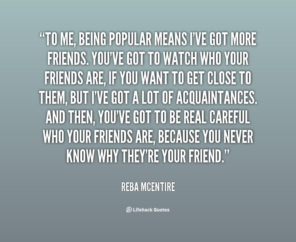 Popular Quotes Pinterest: Quotes About Being Popular. QuotesGram
