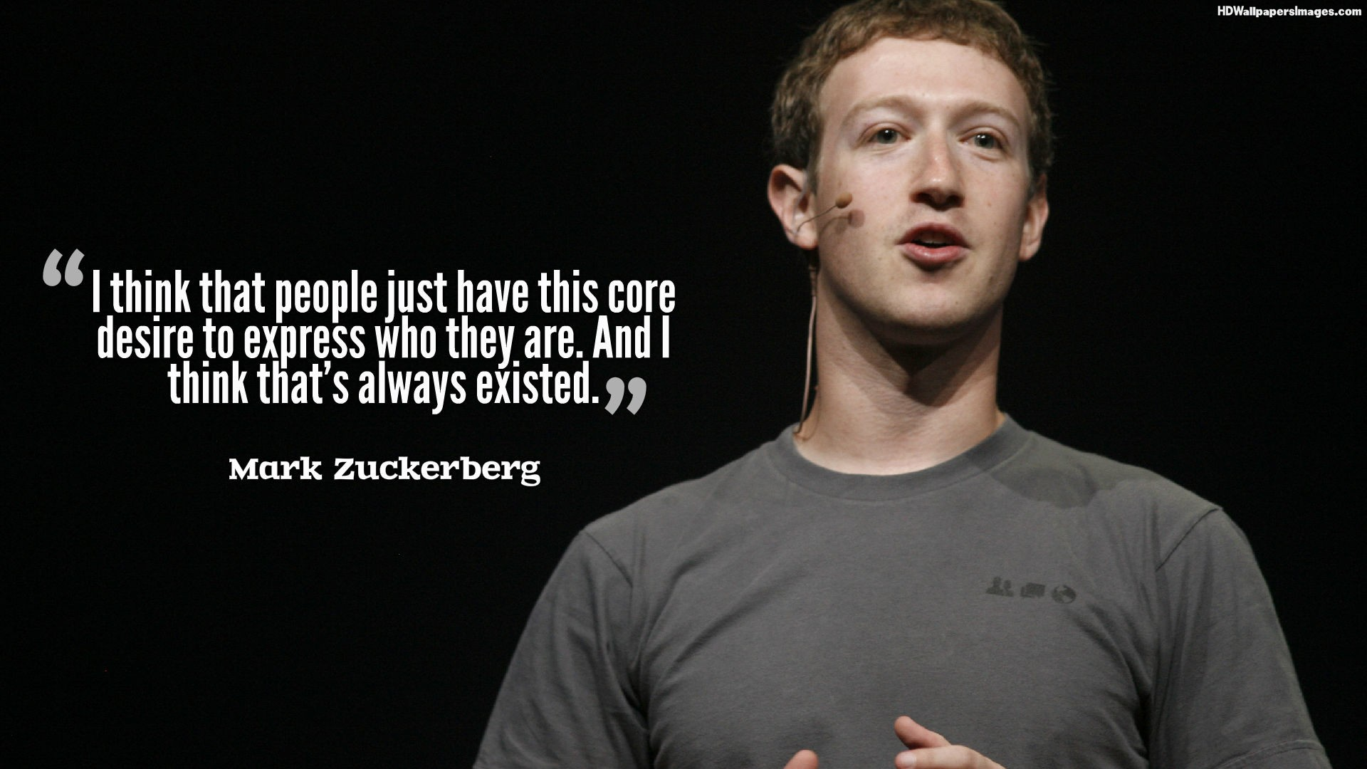 quotes by mark zuckerberg