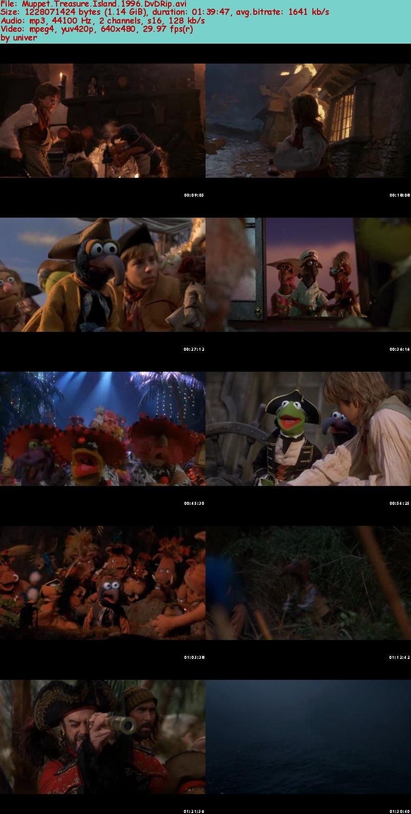 Muppet Treasure Island Fight