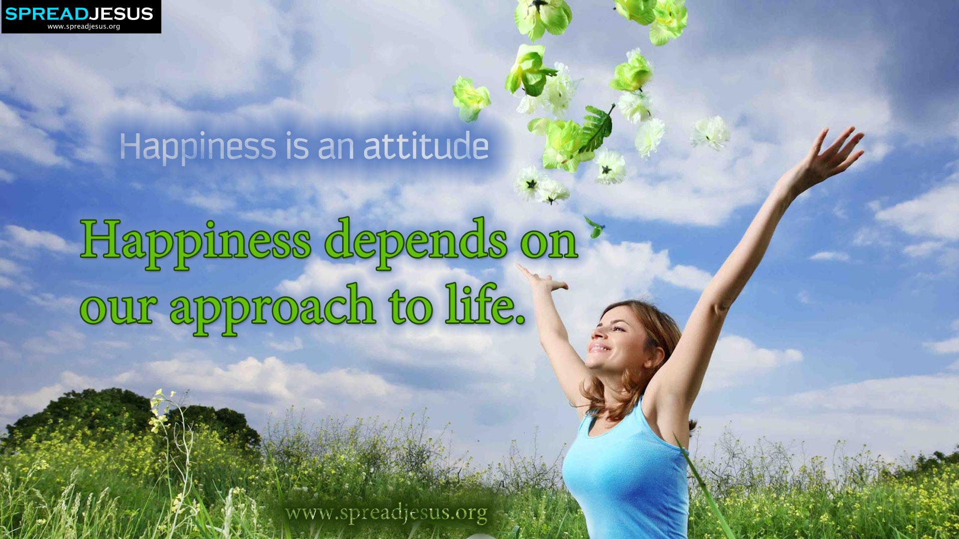 Happy Attitude Quotes. QuotesGram