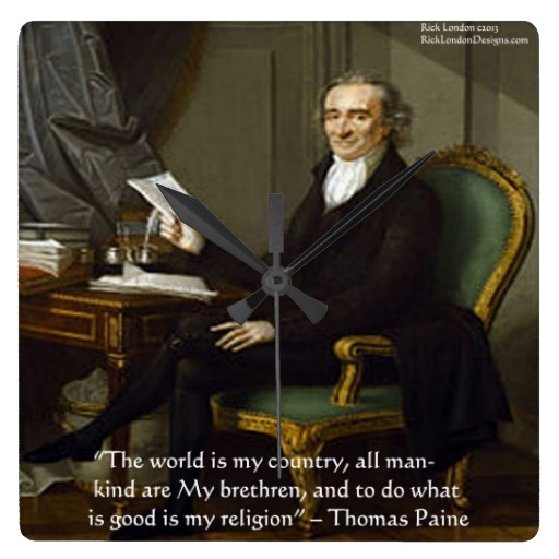 thomas paine essays on religion In common sense, thomas paine shows us that sometimes god will support violence if it's for a good reason common sense shows us that thomas paine's apparently common sense argument relies heavily on his readers belief in the christian bible.