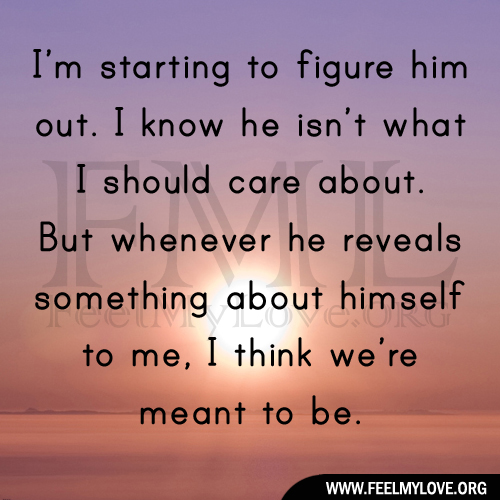 Care For Him Quotes: I Think Im In Love Quotes. QuotesGram