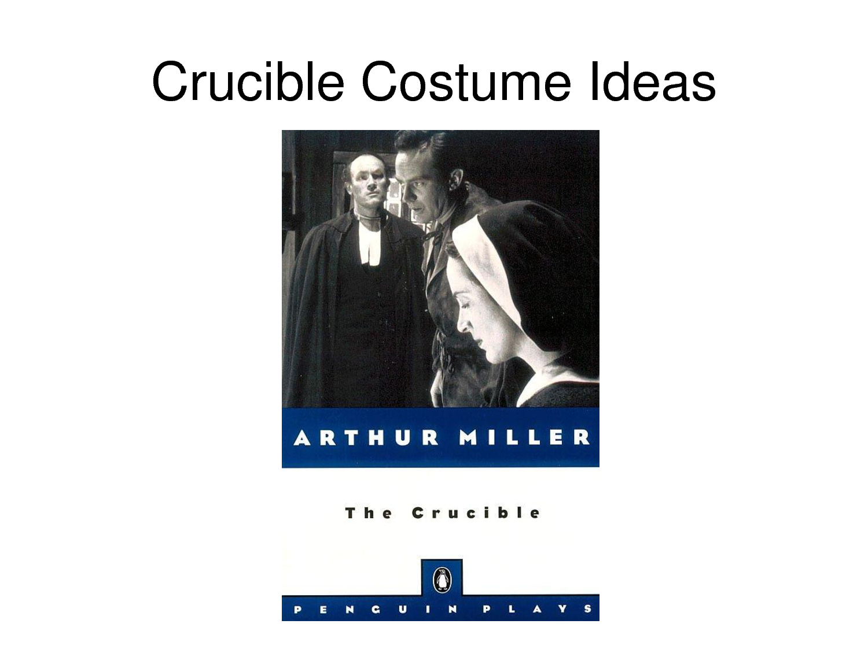 The senseless behaviour in the crucible