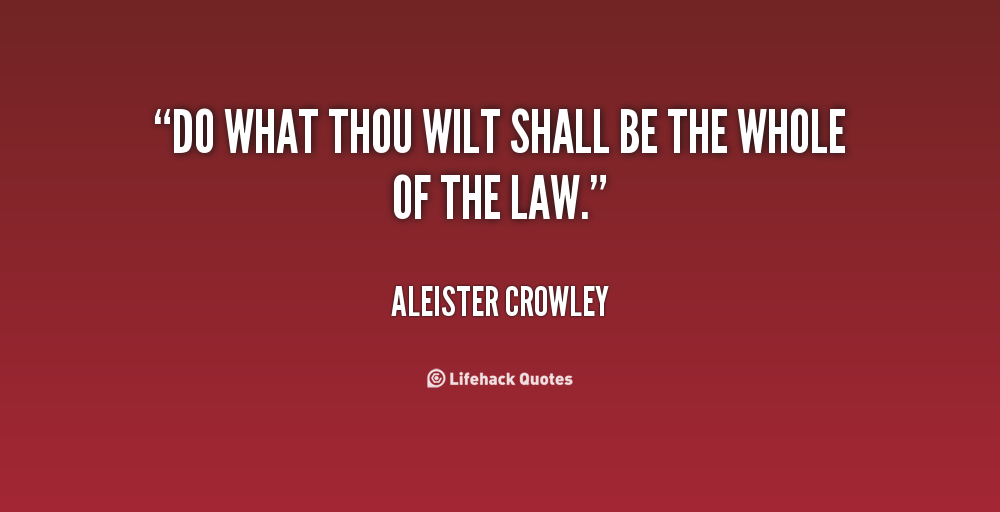 Aleister Crowley Quotes. QuotesGram | 1000 x 512 png 47kB