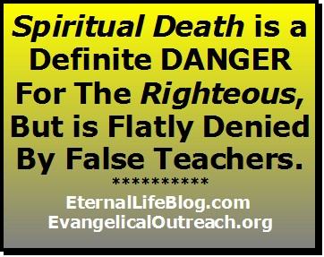 how to avoid spiritual death