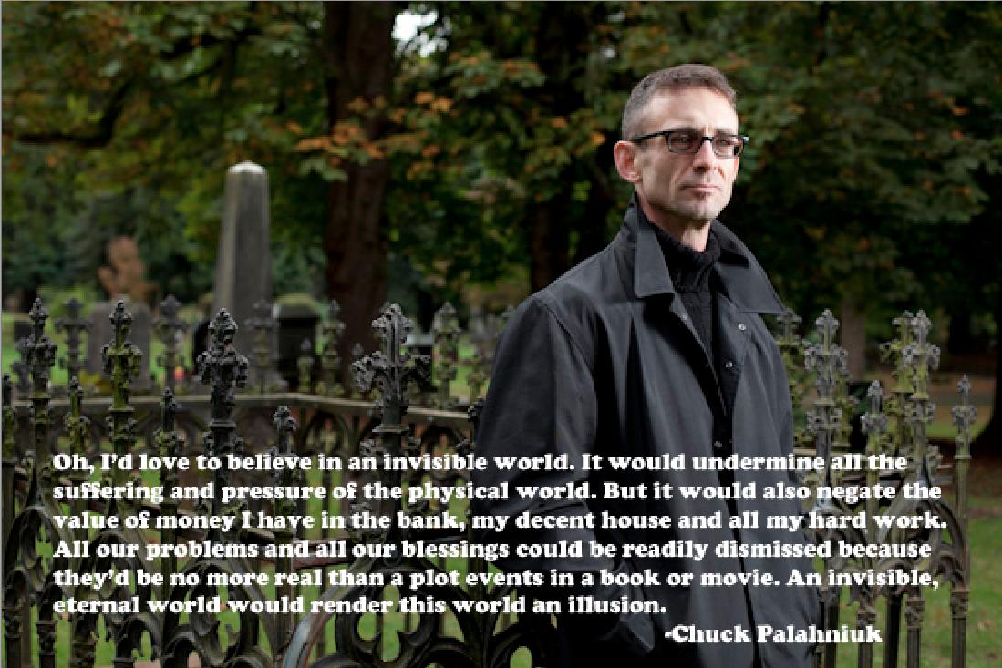 choke chuck palahniuk Interview with chuck palahniuk on the upcoming film choke.