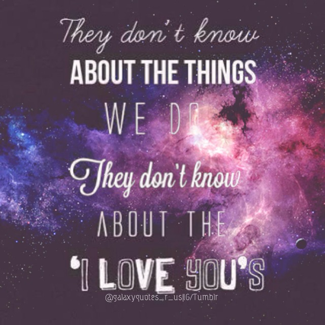18 Best Tumblr Wallpaper Images On Pinterest: Galaxy Quotes About Love. QuotesGram