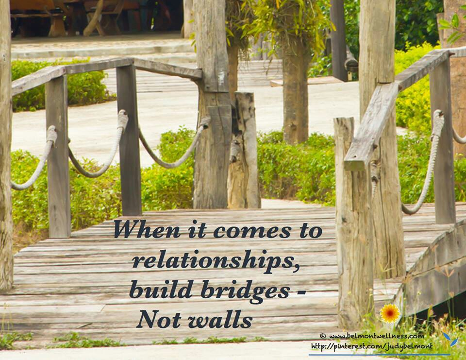 Crossing Bridges Quotes Quotesgram