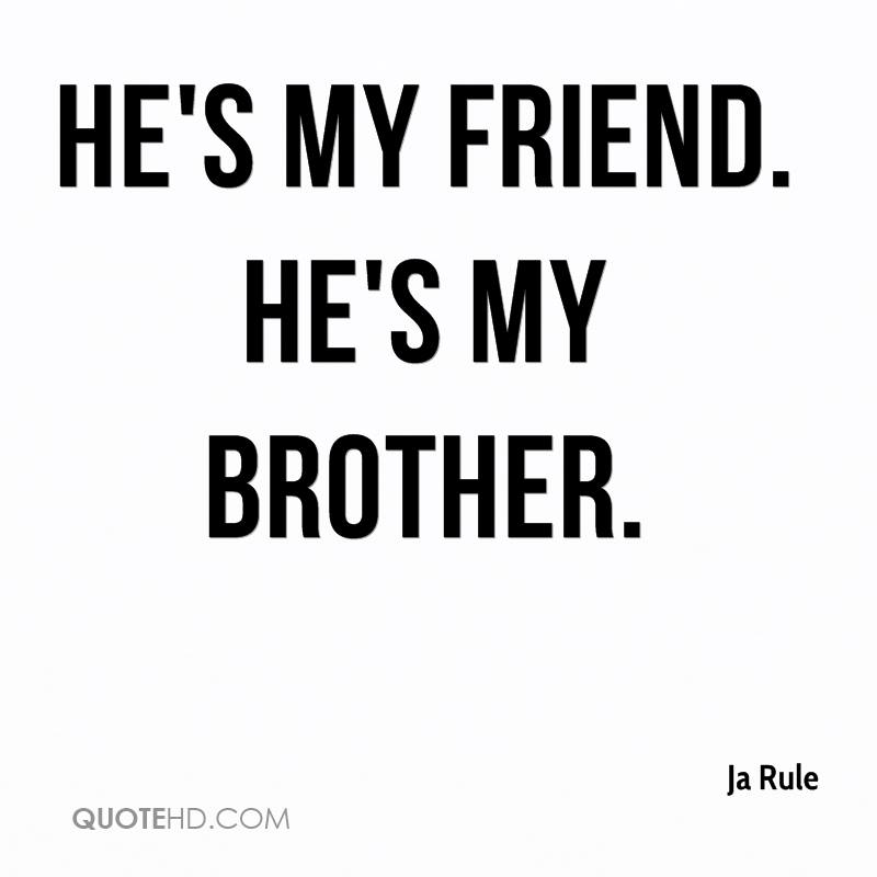 Brother dating my friend