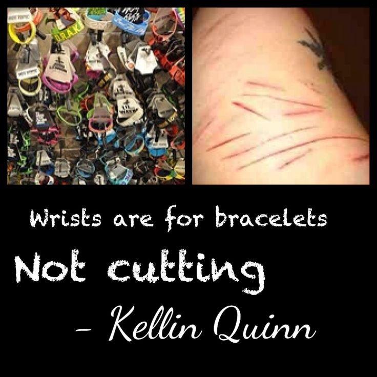 Emo Quotes About Suicide: Kellin Quinn Quotes Cutting. QuotesGram