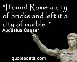 Octavian Augustus Quotes Quotesgram