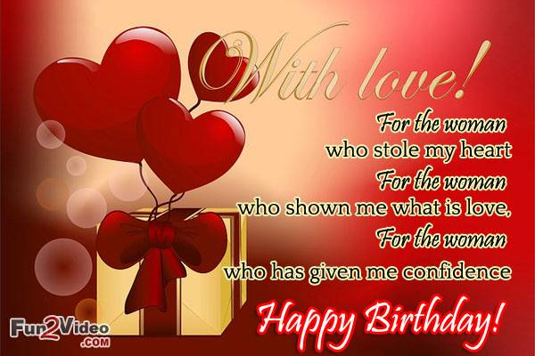 Love Quotes For Her Birthday Quotesgram