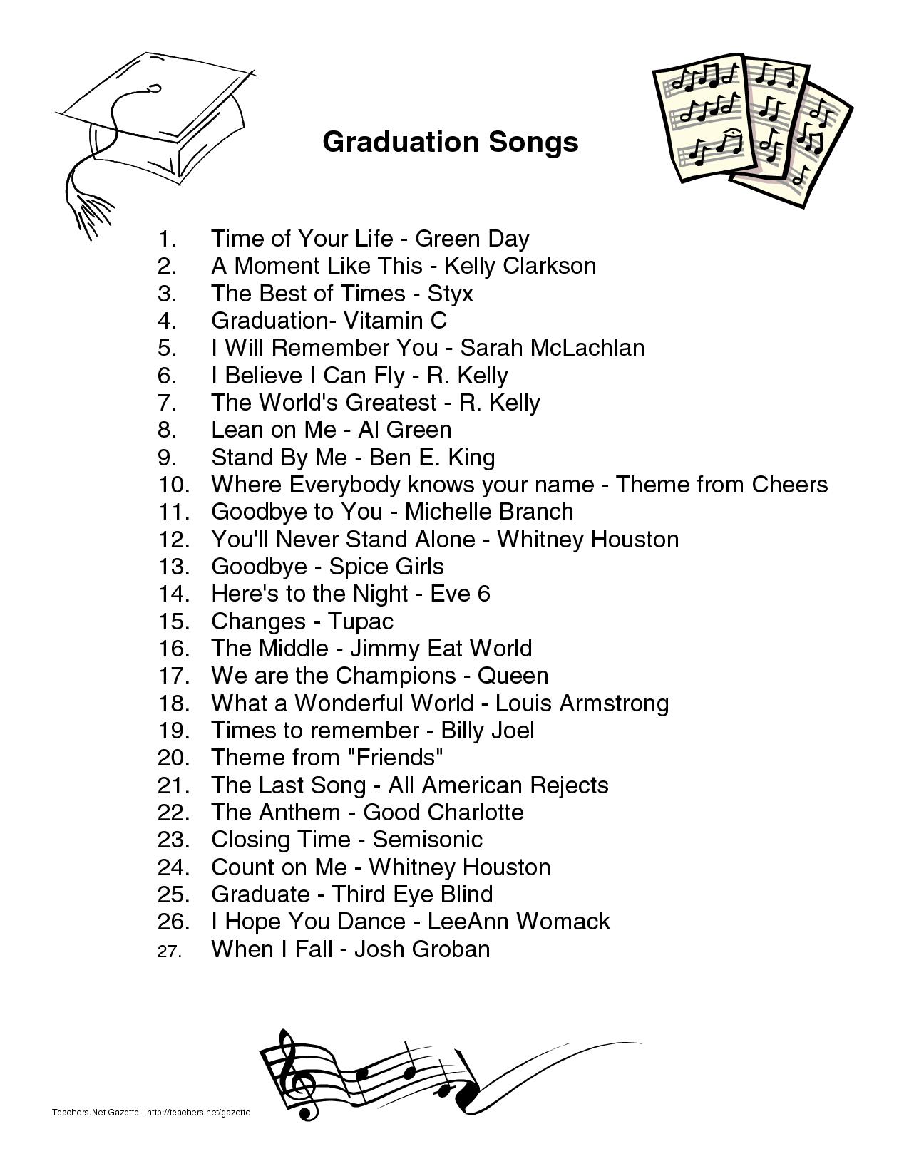 75402803 14720700 - Kindergarten Graduation Song