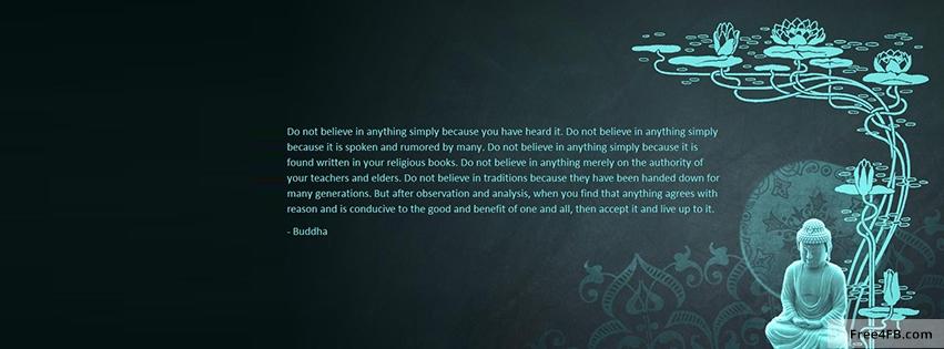 facebook covers buddhist inspirational quotes quotesgram