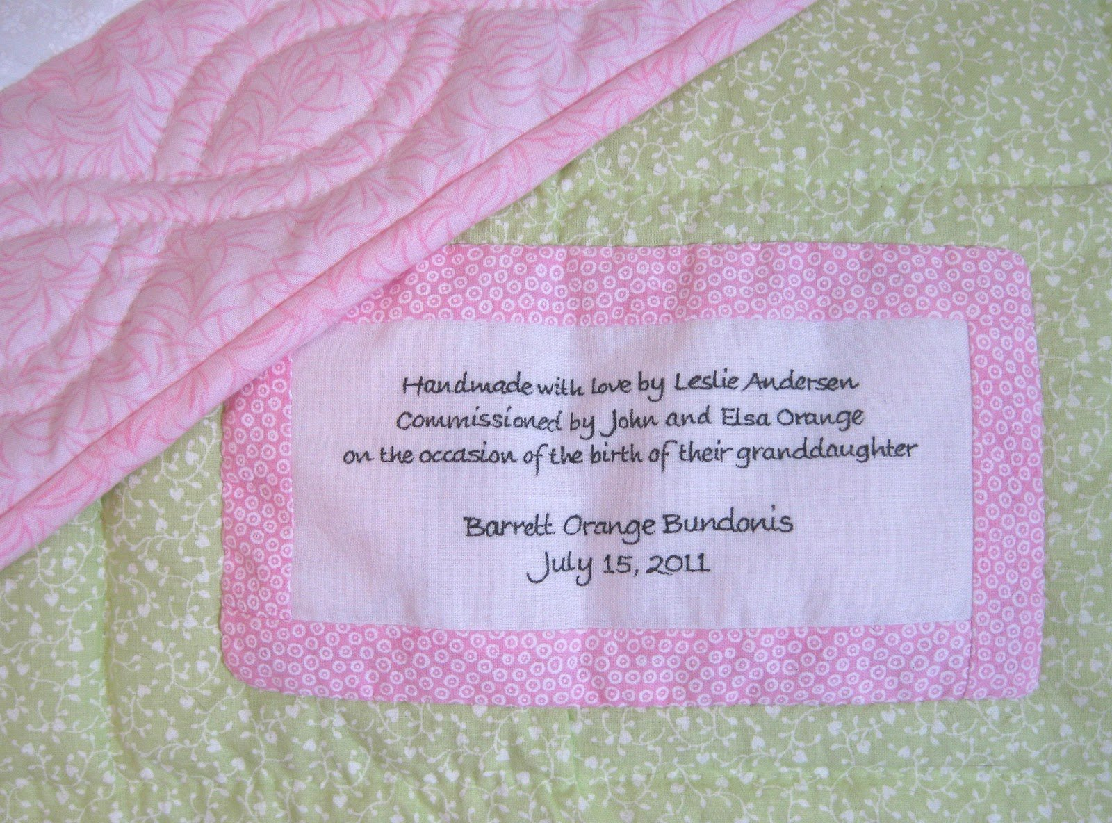 Baby Quilt Label Quotes Quotesgram