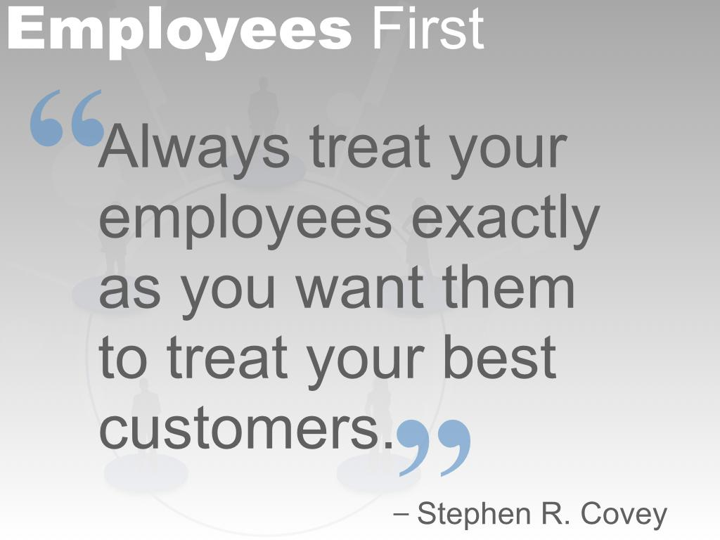 company and employee relationship quotes