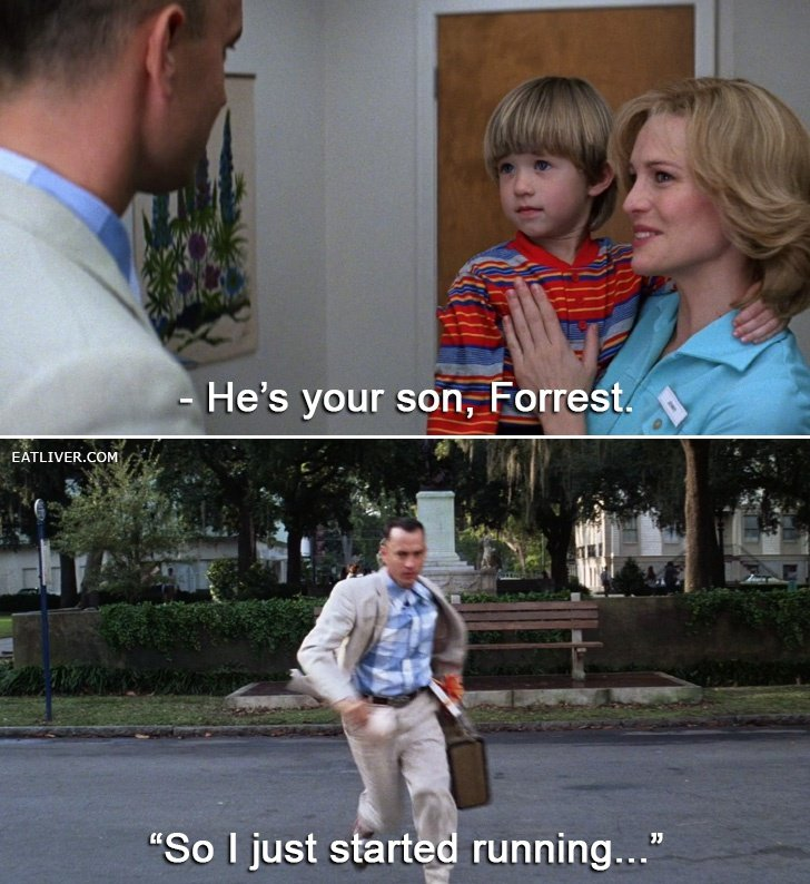 Forrest Gump Funny Quotes: Bubba Forrest Gump Quotes Stupid. QuotesGram