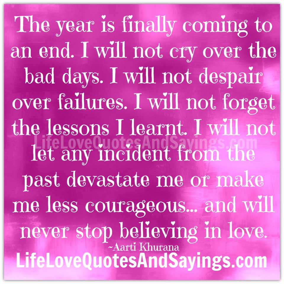 End Quotes: Year End Inspirational Quotes. QuotesGram