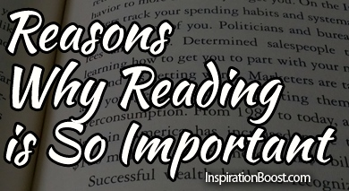 why is reading so important essay