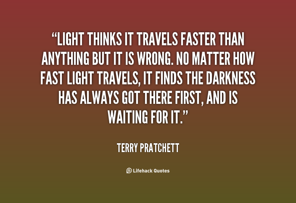 Terry Brands Quotes >> Light Terry Pratchett Quotes. QuotesGram