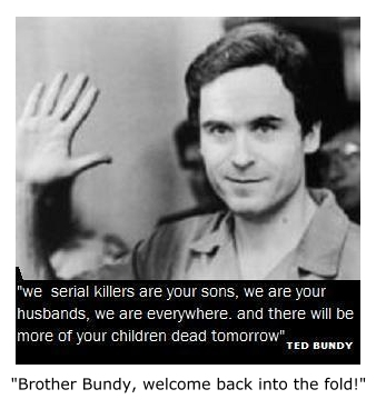 ted bundy a personality comparison with Now, two jail breaks later, ted bundy sits in a maximum‐security cell in  of two  other young colorado women, the police compared the facts with the  ted  bundy became, to some people, a kind of exciting personality in the.