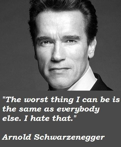 Schwarzenegger movie lines