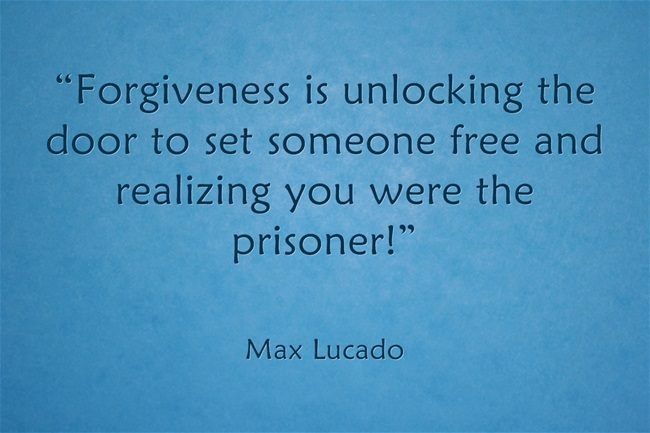 Christian Quotes About Forgiveness Quotesgram: Quotes On Forgiveness Max Lucado. QuotesGram