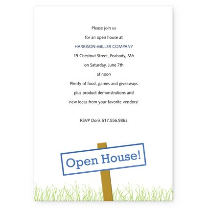 Quotes About Open House Quotesgram